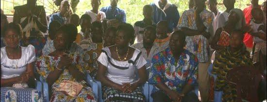 Celebrare catehumenală în Coasta de Fildeş