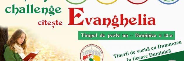 #SundayChallengeEvanghelia – Duminica a 12-a din Timpul de peste an