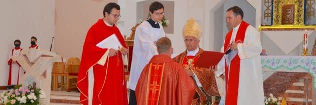 """""""Iată-mă!"""" – Mandatul misionar încredințat pr. Mădălin-Răzvan Iacob"""